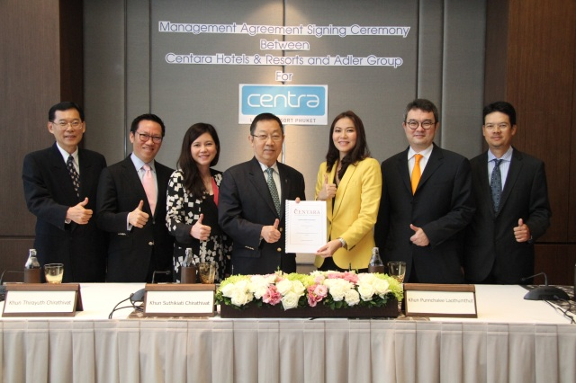 Centara 8th resort contract signing