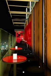 Centara Watergate Pavillion Hotel Bangkok - Chili Hip Corridor