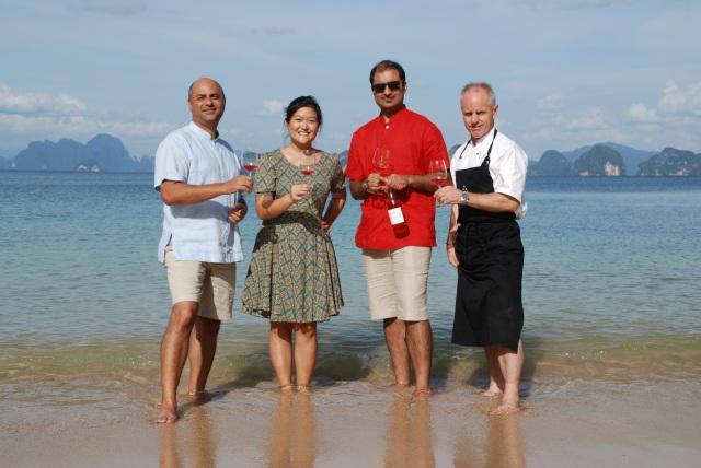 Launch of new wine at Six Senses Yao Noi