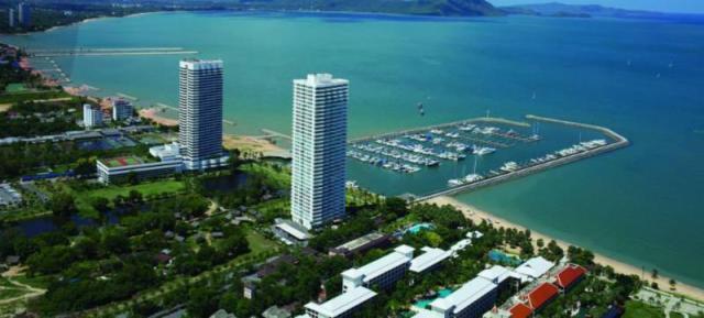 Pattaya harbor