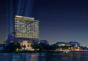 AVANI Bangkok Riverside night view low res rendering