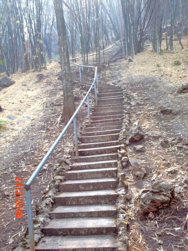 Hell Fire Pass steps