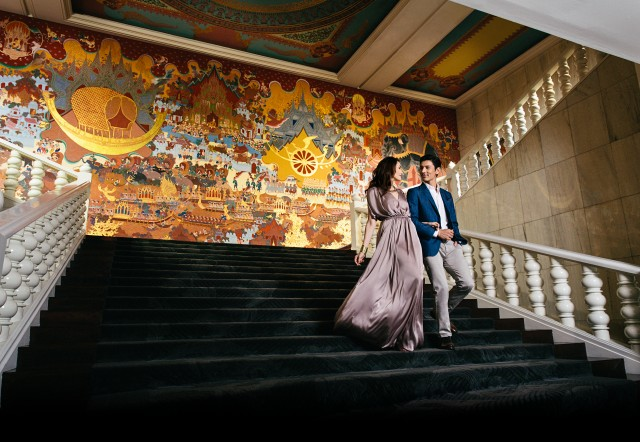 Anantara --Siam_Couple_Stairs